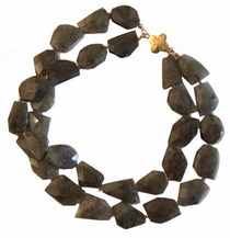 Ames Necklace - Labradorite