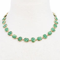 Whitten Necklace - Green Turquoise