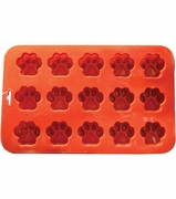 15 Cavity Small Paw Silicon Baking and Mold Pan!
