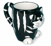 Black and White Cat Mug!