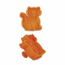 Cat Cookie Cutter And Stamp!