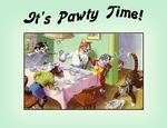 CAT Party Invitations and Note Cards!