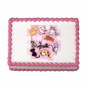 CAT Sugar Cake Art Image