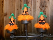 DOG or CAT Halloween Jack O' Lantern Party Hat