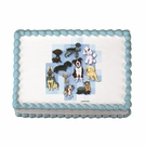 DOG Sugar Cake Art Image
