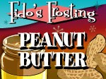 Fido's Dog Peanut Butter Yogurt Frosting!