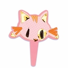 Flexi Cat Cupcake Toppers