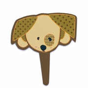 Flexi Dog Cupcake Topper!