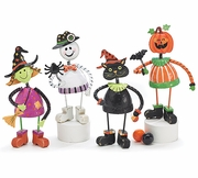 Halloween Black Cat and Figurines!