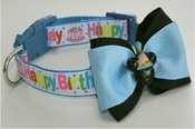 <center> Happy Birthday Boy DOG Party FabuCollar® </center>