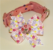 <center> Hearts and Flowers Dog FabuCollar® </center>