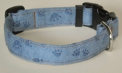 <center> Jeans and Paws DOG Collar </center>