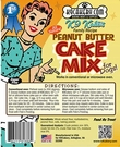 K9 Cakery Peanut Butter Cake Mix!
