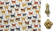 Multi-Breed Cats on Parade - CAT  Banana or Scarf