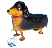 "My Own Pet 26""  Dachshund Walking Pet Mylar Balloon"