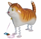 "My Own Pet  26"" Cat  Walking Pet Mylar Balloon"