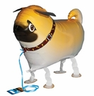 "My Own Pet 18""  Pug Walking Pet Mylar Balloon"