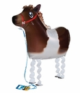 "My Own Pet  36"" Shetland Poiny Walking  Pet Mylar Balloon"