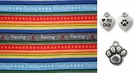 Nascar Striped Dog or Cat Bandana
