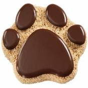 Paw Print Rice Krispies Party Treat Recipe!