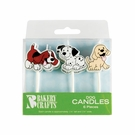 Puffy Dog Cake or Cupcake Candles!