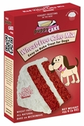 Puppy Cake Wheat Free Red Velvet Cake and Yogurt Frosting !