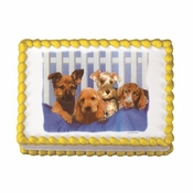 PUPPY Sugar Cake Art Image