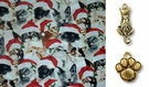 Santa Hat Cat Bandana or Scarf