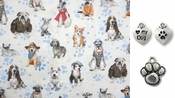 So Many Dogs So Little Time Robert Kaufman  DOG Bandana or Scarf