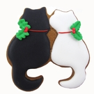Twin Cats Cookie Cutter