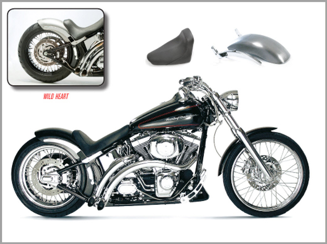 Wide Tire Kit For Deuce 180 Wide Tire Kit For Softail