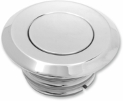 ARLEN NESS Smooth Pop Up Style Gas Cap - Chrome