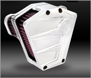 SCALLOP Chrome Air Cleaner