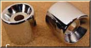 Chrome Upper Shock Covers for 04 - UP