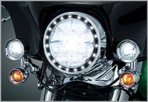 LED Halo Headlight Trim Ring
