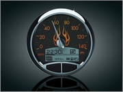 Medallion FLAMES Console Gauge