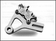 PMI 4 Piston Caliper and Bracket for Dyna Models