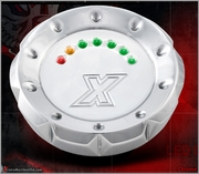 V-CUT Chrome LED Gas Cap
