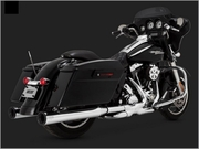 Vance & Hines Eliminator 400 Slip-ons With Black End-Cap