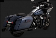 Vance & Hines OVERSIZED 450 Destroyer Slip-Ons Black