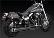 Vance & Hines Pro Pipe Hi-Output BLACK