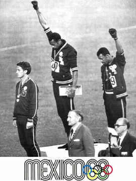 1968 Olympics Black Power T-Shirt