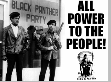 All power to the people black panther t shirt