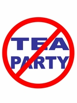 ACTIVIST SPECIAL! ANTI-TEA PARTY T-SHIRT ONLY $6!