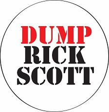Dump Rick Scott Button