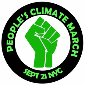 People's Climate March Button