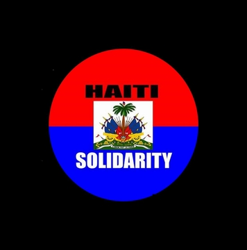 Haiti Solidarity Button - Support Grassroots Relief!