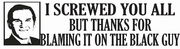 New! Anti Tea Party Bumper Stickers