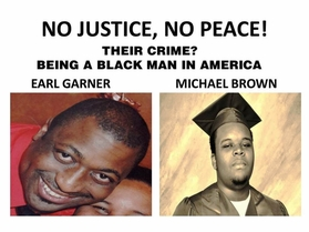 No Justice, No Peace! Eric Garner, Michael Brown T-Shirt