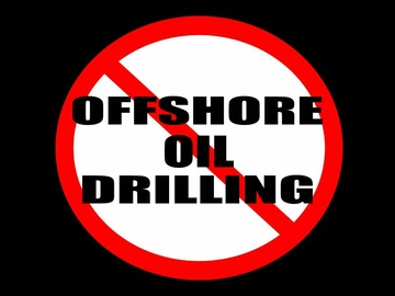 Offshore Drilling Button